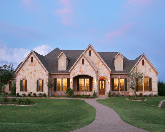 Paul taylor homes dallas fort worth texas find a home for Homes to build on acreage