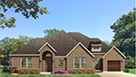 Front Elevation Plan 3122