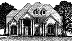 Front Elevation Plan 4045