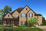Front Elevation Plan 4646