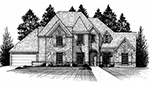 Front Elevation Plan 4292
