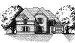Front Elevation Plan 3657